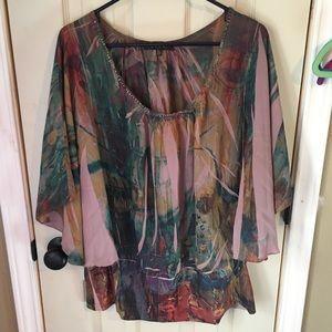 Cute colorful blouse